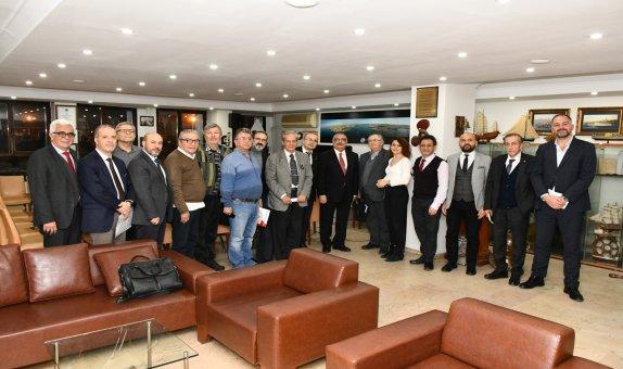 Denizcilik Sektörü STK'ları Kanal İstanbul Projesi'ni İstişare Etti