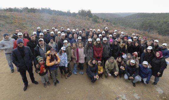İDO 10. Yıl Anısına Hatıra Ormanı Oluşturdu