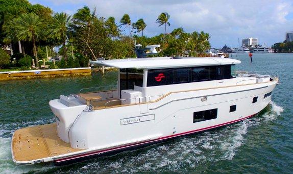 Sirena 58 Coupe'yi 2020 Miami Boat Show'da Görücüye Çıktı