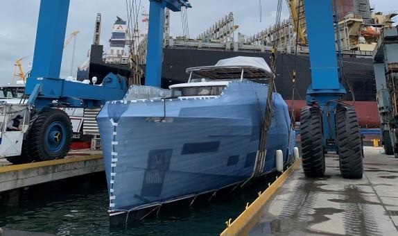 Sirena Marine, Sirena 88'in İkinci Gövdesini Suya İndirdi