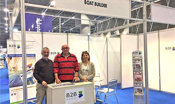 Boat Builder Türkiye Dergimizin Kurucusu Erdal Karaca Standımızı Ziyaret Etti