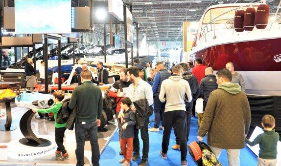 CNR Avrasya Boat Show'a Ziyaretçi Akını Oldu